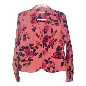 NWT CAbi Floral Blazer Medium 8